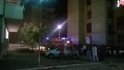 Venafro incendio in Via Vanvitelli, condomini evacuati