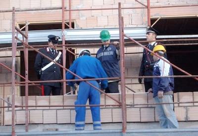 carabinieri sicurezza sul lavoro