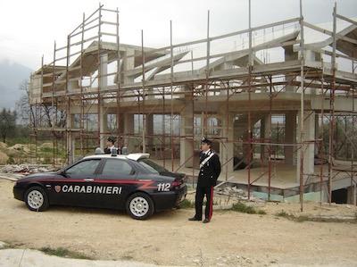 carabinieri tutela dell'ambiente