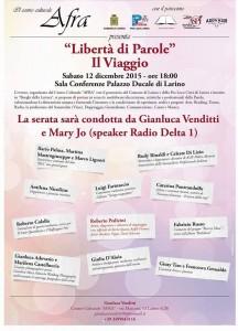 """""""Libertà di Parole"""" al Palazzo Ducale di Larino"""
