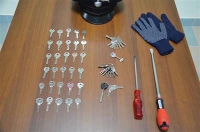 foto sequestro chiavi