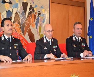 presentazione bilancio 2015 attività dall'Arma Isernia