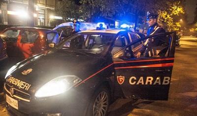 intervento Carabinieri a Isernia