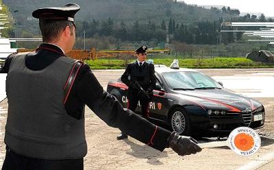 Isernia posti di blocco Carabinieri