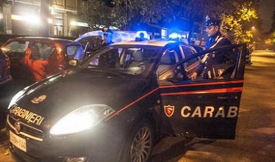 controlli Carabinieri di notte