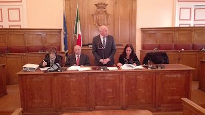 elezione del sindaco Battista a presidente dell'ATS