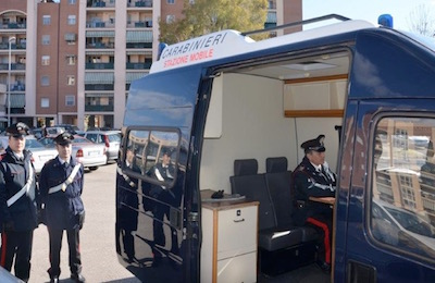 stazione mobile Carabinieri