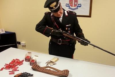 sequestro armi e munizioni