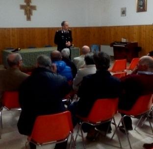 Agnone, incontro tra Carabinieri e fedeli per parlare del pericolo delle truffe