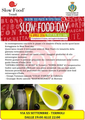 Slow food 2016 a Termoli locandina
