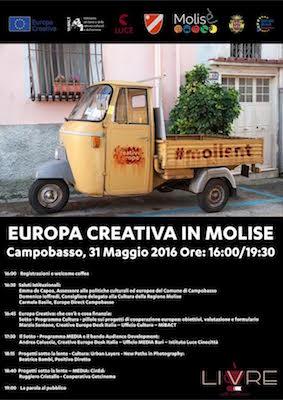 Europa Creativa in Molise