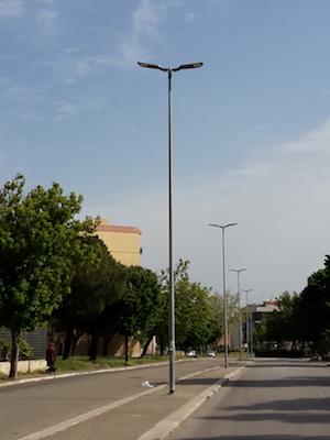 Lampioni nuovi a Termoli