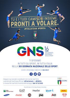 XIII Giornata Nazionale dello Sport