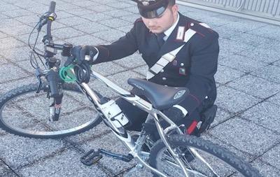Venafro ladri biciclette
