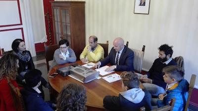 incontro sindaco Campobasso e studenti del D'Ovidio