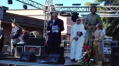 intervento del sindaco di Campobasso alla Festa di San Giuseppe Artigiano