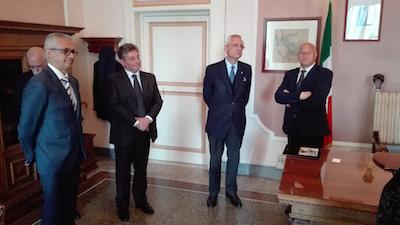 visita di Daniele Mancini