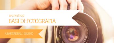 workshop basi di fotografia