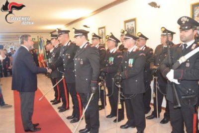 202° Anniversario della fondazione dell'Arma, la cerimonia a Isernia