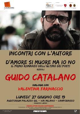 Guido Catalano - D'amore si muore ma io no a Campobasso