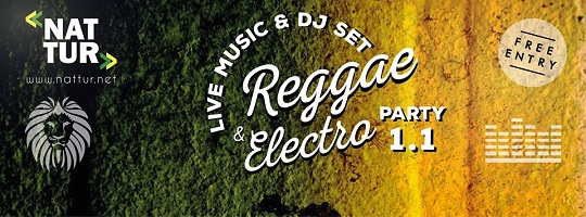 Reggae & Electro Party 1.1 con i Rhomanife