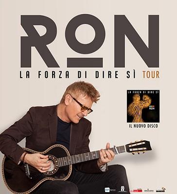 Ron La forza di dire si tour 2016