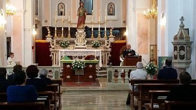 incontro Carabinieri Vescovo Mons. Cibotti