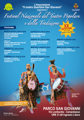 20° Festival del Teatro Popolare