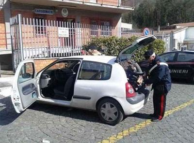 foto perquisizione auto