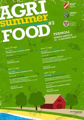Agri Summer Food 2016 a Termoli tra gli eventi in Molise del 10 agosto 2016