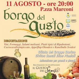 Borgo del Gusto a Ripabottoni - Molise eventi 11 agosto 2016