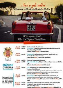 """Campobasso, rassegna cinematografica """"Noi e gli altri"""" dal 18 al 24 agosto"""