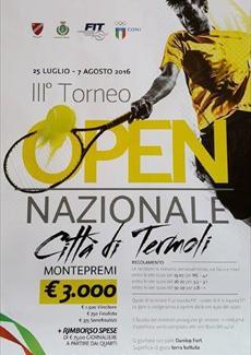 III TORNEO OPEN DI TENNIS TERMOLI