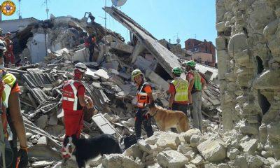 Terremoto Amatrice, intervento Corpo Nazionale Soccorso Alpino e Speleologico Molise