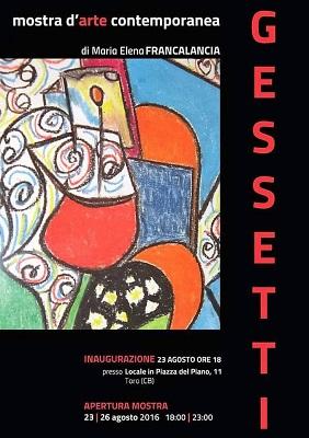 mostra Gessetti