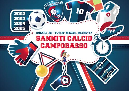 sanniti scuola calcio Campobasso