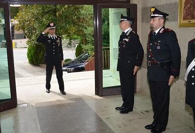 Comandante della Legione Carabinieri Abruzzo e Molise