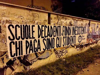 Protesta Blocco Studentesco