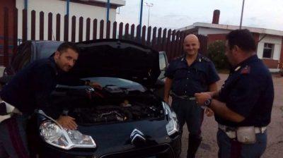 Auto rubata a Lanciano