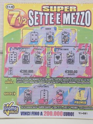 biglietto vincita milionaria a Campobasso