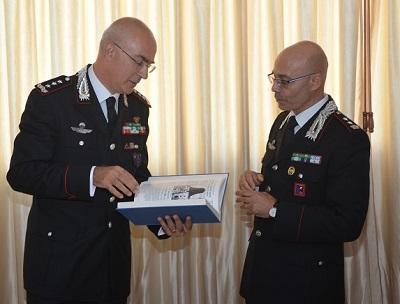 visita del Comandante Interregionale Carabinieri
