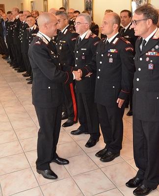visita del Comandante Michele Sirimarco