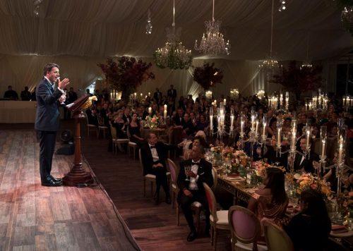 Renzi cena con Obama
