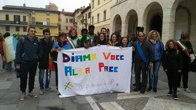 Marcia della Pace, la partecipazione del comune di Campobasso
