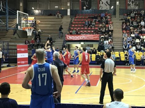 Basket, Rimini Crabs-Dynamic Venafro 76-69
