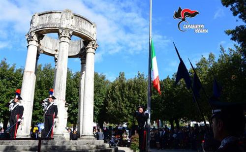 Isernia, Festa dell'Unità Nazionale e giornata delle Forze Armate