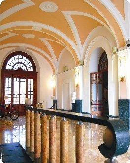 provincia Campobasso palazzo magno atrio