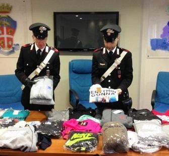 abbiglamento contraffazione