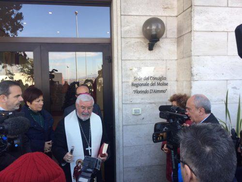 53 anni del Molise, celebrazioni in consiglio regionale: la sede intitolata a D'Aimmo