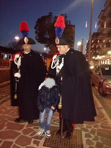 foto Carabinieri in GUS